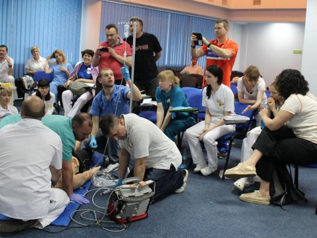 12-13 жовтня буде проводитись курс з невідкладних станів ACLS (м.Львів)